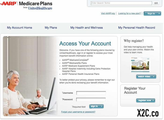 MyAARPMedicare Login - Step by Step Process