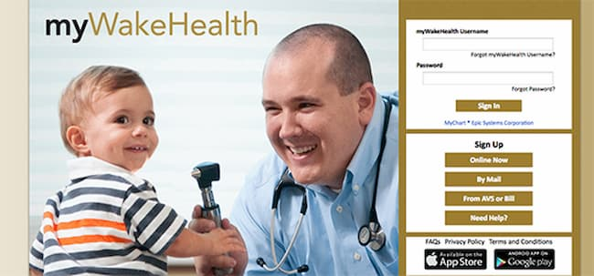 MyWakeHealth | Pay Medical Bill At Patient Portal www.MyWakeHealth.Org